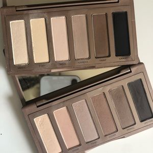 Urban Decay Naked Basics 1 & 2 Eyeshadow Palettes